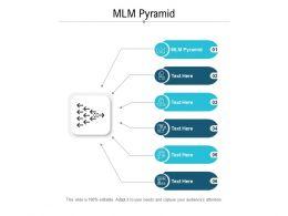 MLM Pyramid Ppt Powerpoint Presentation Ideas Themes Cpb