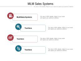 Mlm Sales Systems Ppt Powerpoint Presentation Portfolio Gridlines Cpb