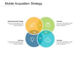 Mobile Acquisition Strategy Ppt Powerpoint Presentation Outline Example Introduction Cpb