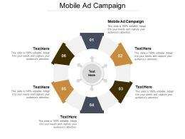 Mobile Ad Campaign Ppt Powerpoint Presentation Icon Infographics Cpb