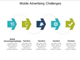 Mobile Advertising Challenges Ppt Powerpoint Presentation Infographic Template Graphics Download Cpb