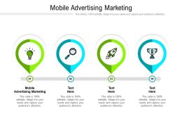 Mobile Advertising Marketing Ppt Powerpoint Presentation Layouts Elements Cpb