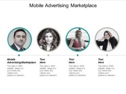 Mobile Advertising Marketplace Ppt Powerpoint Presentation Gallery Slides Cpb