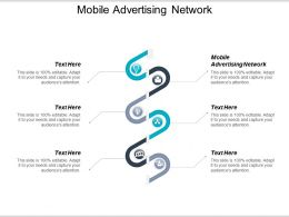 Mobile Advertising Network Ppt Powerpoint Presentation Professional Ideas Cpb