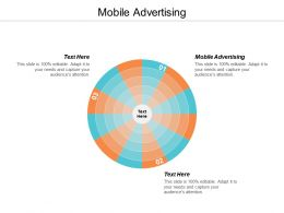 Mobile Advertising Ppt Powerpoint Presentation Infographics Guidelines Cpb