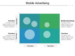 Mobile Advertising Ppt Powerpoint Presentation Pictures Graphics Template Cpb
