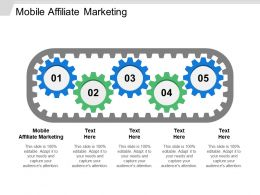 Mobile Affiliate Marketing Ppt Powerpoint Presentation Ideas Example Cpb