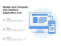 Mobile And Computer User Interface Application Icon
