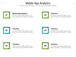 Mobile App Analytics Ppt Powerpoint Presentation Pictures Background Designs Cpb