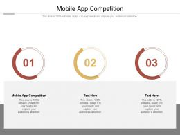 Mobile App Competition Ppt Powerpoint Presentation Pictures Slides Cpb