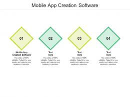 Mobile App Creation Software Ppt Powerpoint Presentation Portfolio Introduction Cpb