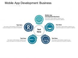 Mobile App Development Business Ppt Powerpoint Presentation Pictures Samples Cpb