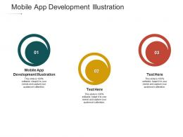 Mobile App Development Illustration Ppt Powerpoint Presentation Microsoft Cpb
