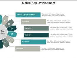 Mobile App Development Ppt Powerpoint Presentation Slides Slideshow Cpb