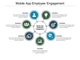 Mobile App Employee Engagement Ppt Powerpoint Presentation Summary Background Cpb