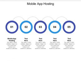 Mobile App Hosting Ppt Powerpoint Presentation Inspiration Icon Cpb