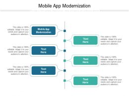 Mobile App Modernization Ppt Powerpoint Presentation Styles Designs Cpb