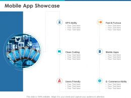 Mobile App Showcase Ppt Powerpoint Presentation Professional Example