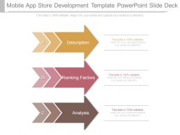Mobile App Store Development Template Powerpoint Slide Deck
