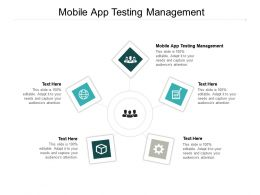 Mobile App Testing Management Ppt Powerpoint Presentation Portfolio Picture Cpb