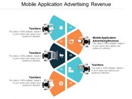 Mobile Application Advertising Revenue Ppt Powerpoint Presentation File Sample Cpb