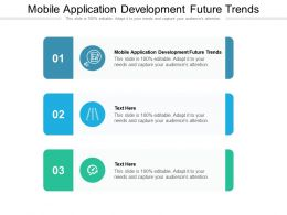 Mobile Application Development Future Trends Ppt Powerpoint Professional Model Cpb