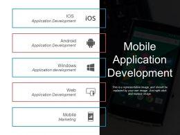 Mobile Application Development Ppt Model