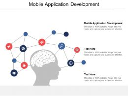 Mobile Application Development Ppt Powerpoint Presentation File Maker Cpb