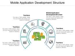 Mobile Application Development Structure Ppt Powerpoint Presentation Outline Background Image Cpb
