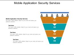 Mobile Application Security Services Ppt Powerpoint Presentation Show Elements Cpb