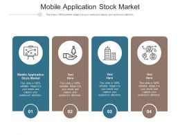Mobile Application Stock Market Ppt Powerpoint Presentation Icon Graphics Download Cpb