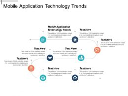 Mobile Application Technology Trends Ppt Powerpoint Presentation Gallery Summary Cpb