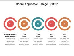 Mobile Application Usage Statistic Ppt Powerpoint Presentation Good Cpb