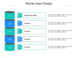 Mobile Apps Design Ppt Powerpoint Presentation Outline Graphic Images Cpb