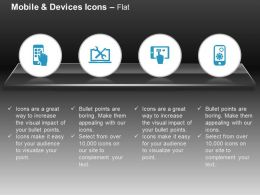 Mobile Apps Laptop And Mobile Settings Ppt Icons Graphics