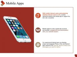 Mobile Apps Powerpoint Slide Deck