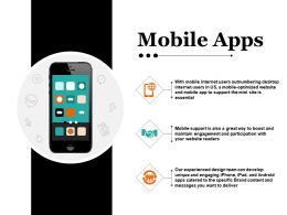 Mobile Apps Ppt Design
