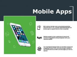 Mobile Apps Ppt File Visual Aids