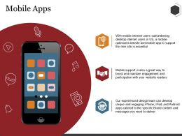 Mobile Apps Ppt Summary