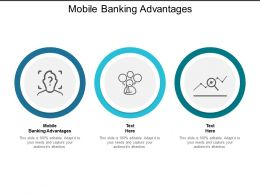 Mobile Banking Advantages Ppt Powerpoint Presentation Outline Graphic Images Cpb