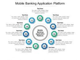 Mobile Banking Application Platform Ppt Powerpoint Presentation Ideas Diagrams Cpb