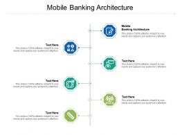 Mobile Banking Architecture Ppt Powerpoint Presentation Styles Guidelines Cpb