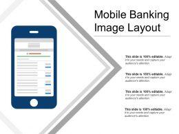 Mobile Banking Image Layout