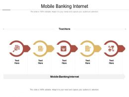 Mobile Banking Internet Ppt Powerpoint Presentation Slides Files Cpb
