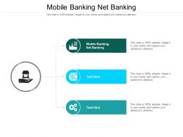 Mobile Banking Net Banking Ppt Powerpoint Presentation File Sample Cpb
