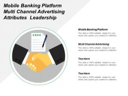Mobile Banking Platform Multi Channel Advertising Attributes Leadership Cpb