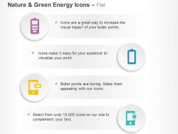 Mobile Battery Charging Conditions Ppt Icons Graphics