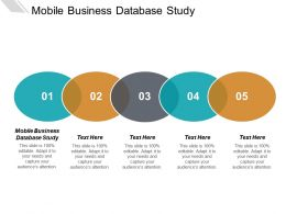 Mobile Business Database Study Ppt Powerpoint Presentation Styles Tips Cpb
