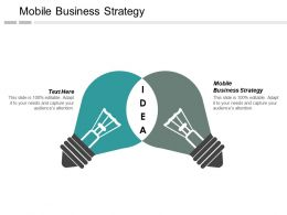 Mobile Business Strategy Ppt Powerpoint Presentation Inspiration File Formats Cpb