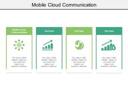 Mobile Cloud Communication Ppt Powerpoint Presentation Model Layout Cpb